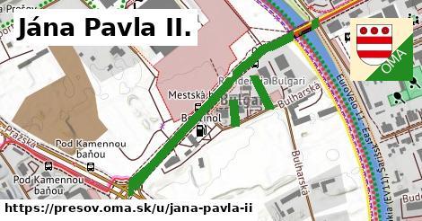 Jána Pavla II., Prešov