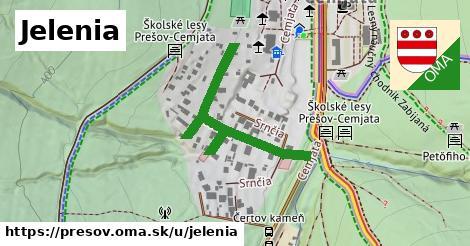 ilustrácia k Jelenia, Prešov - 329m