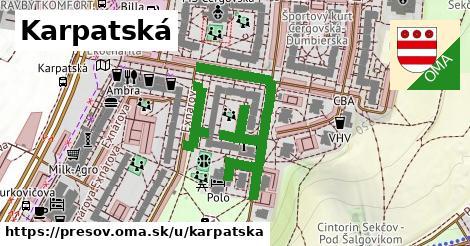 ilustrácia k Karpatská, Prešov - 433m