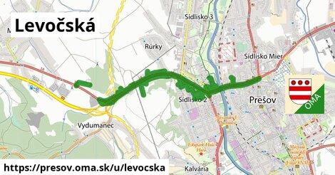 ilustrácia k Levočská, Prešov - 8,6km