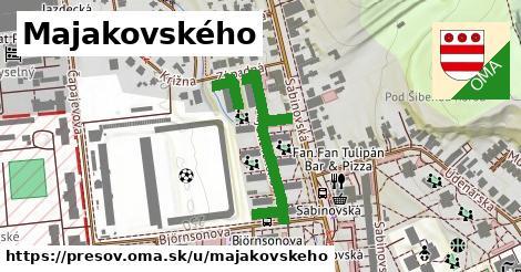 ilustrácia k Majakovského, Prešov - 377m