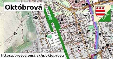 Októbrová, Prešov