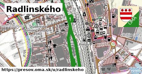 ilustrácia k Radlinského, Prešov - 1,35km
