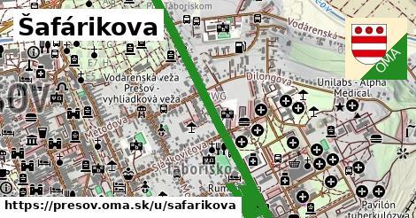ilustrácia k Šafárikova, Prešov - 1,29km