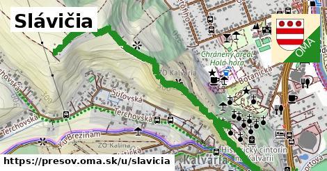 ilustrácia k Slávičia, Prešov - 1,77km
