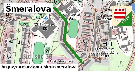 ilustrácia k Šmeralova, Prešov - 363m