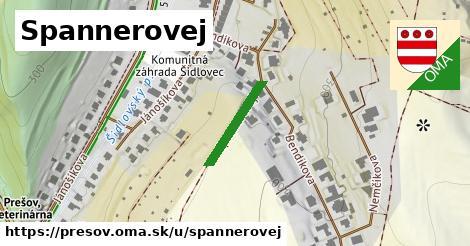 Spannerovej, Prešov