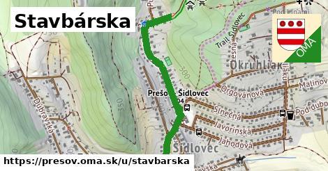 ilustrácia k Stavbárska, Prešov - 0,88km