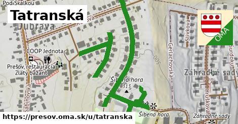 ilustrácia k Tatranská, Prešov - 0,73km