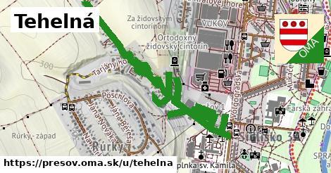 ilustrácia k Tehelná, Prešov - 1,00km