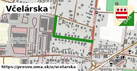 ilustrácia k Včelárska, Prešov - 328m