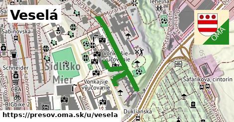 ilustrácia k Veselá, Prešov - 265m