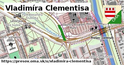 ilustrácia k Vladimíra Clementisa, Prešov - 0,84km
