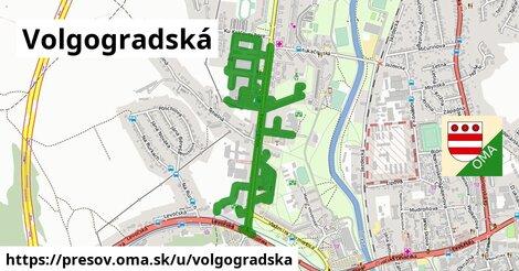 Volgogradská, Prešov