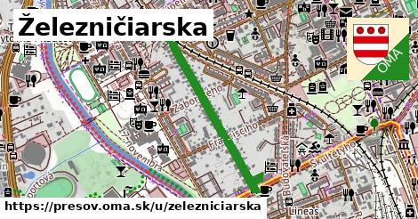 ilustrácia k Železničiarska, Prešov - 0,71km