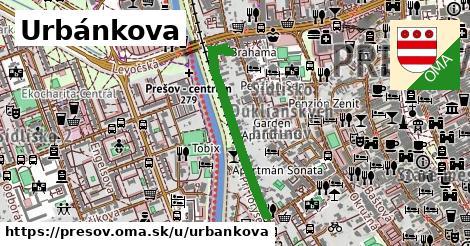 ilustrácia k Urbánkova, Prešov - 585m