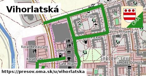 ilustrácia k Vihorlatská, Prešov - 0,98km