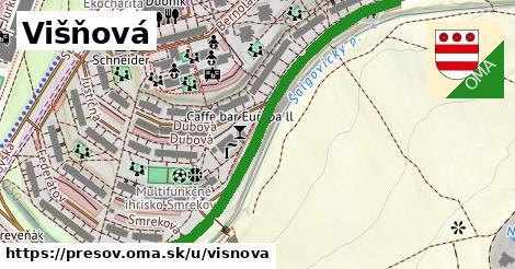 ilustrácia k Višňová, Prešov - 0,72km