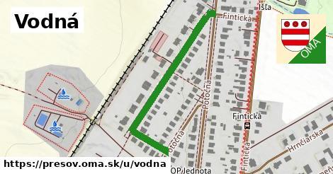 ilustrácia k Vodná, Prešov - 404m