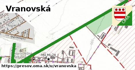 ilustrácia k Vranovská, Prešov - 4,0km