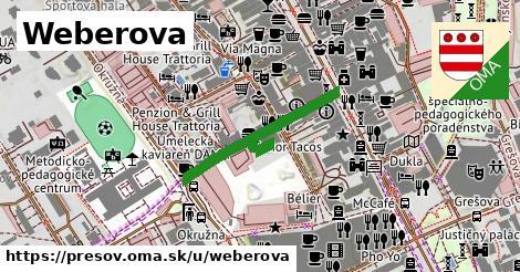 ilustračný obrázok k Weberova, Prešov