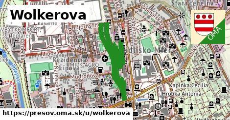ilustračný obrázok k Wolkerova, Prešov