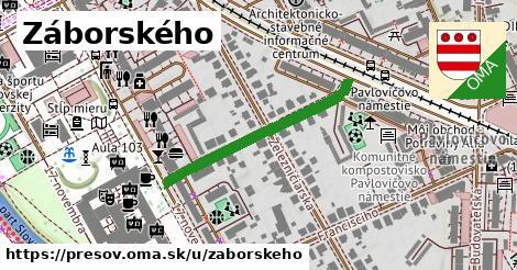 ilustrácia k Záborského, Prešov - 308m
