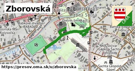 ilustračný obrázok k Zborovská, Prešov