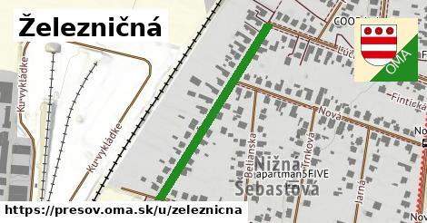 ilustrácia k Železničná, Prešov - 358m