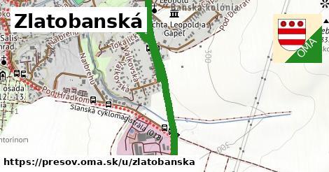 ilustračný obrázok k Zlatobanská, Prešov