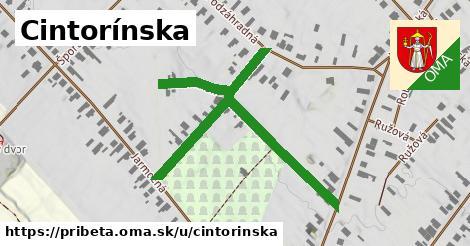 ilustrácia k Cintorínska, Pribeta - 421m