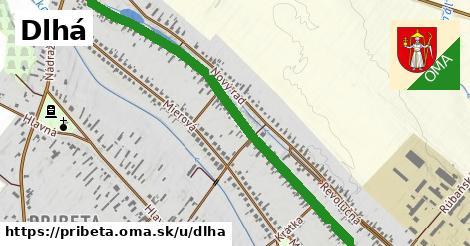 ilustrácia k Dlhá, Pribeta - 1,43km