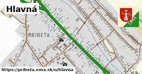 ilustrácia k Hlavná, Pribeta - 1,50km