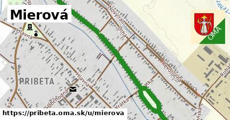 ilustrácia k Mierová, Pribeta - 1,68km