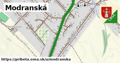 ilustrácia k Modranská, Pribeta - 0,95km