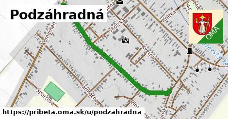 ilustrácia k Podzáhradná, Pribeta - 1,00km