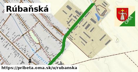 ilustrácia k Rubanská, Pribeta - 511m