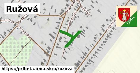 ilustrácia k Ružová, Pribeta - 211m