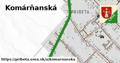 ilustrácia k Komárňanská, Pribeta - 1,29km