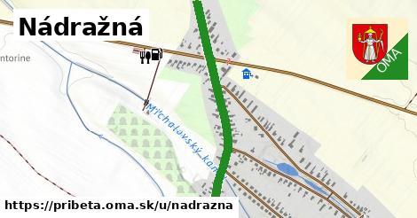 ilustrácia k Nádražná, Pribeta - 1,05km