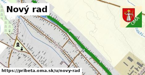 ilustrácia k Nový rad, Pribeta - 1,57km