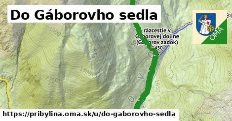 ilustrácia k Do Gáborovho sedla, Pribylina - 2,5km