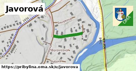ilustrácia k Javorová, Pribylina - 160m