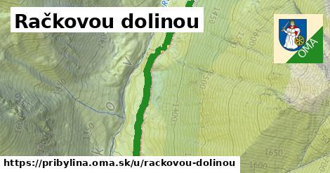ilustrácia k Račkovou dolinou, Pribylina - 1,87km