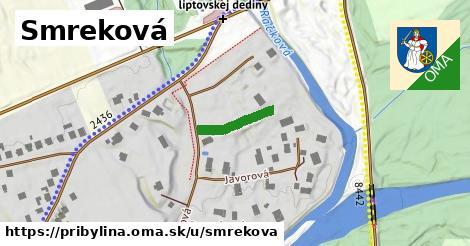ilustrácia k Smreková, Pribylina - 127m