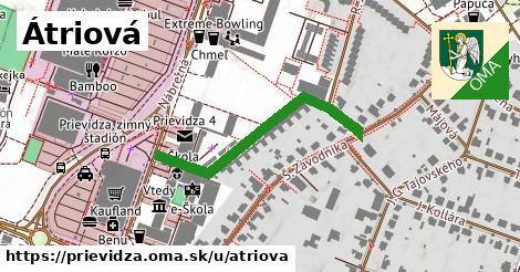 ilustrácia k Átriová, Prievidza - 353m