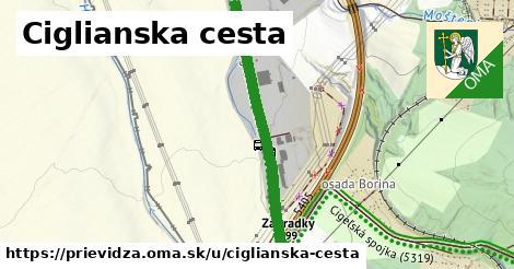 ilustrácia k Ciglianska cesta, Prievidza - 2,3km