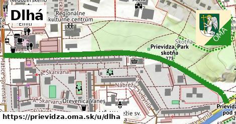 ilustrácia k Dlhá, Prievidza - 0,75km