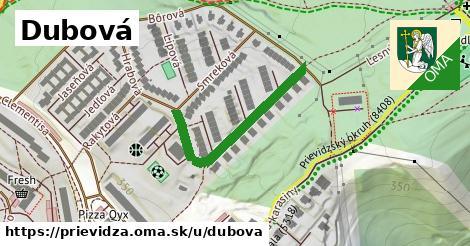 ilustrácia k Dubová, Prievidza - 322m