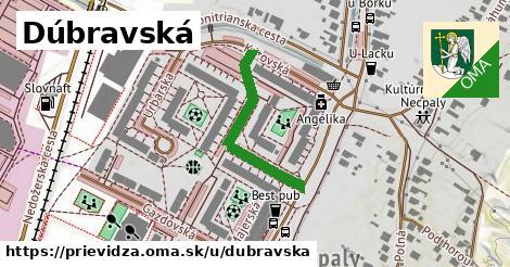 ilustrácia k Dúbravská, Prievidza - 280m